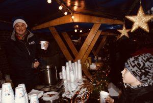 Heiße Getränke bei winterlichen Temperaturen.